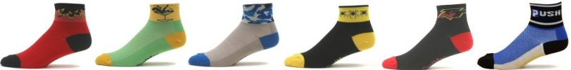 socks cycling running custom